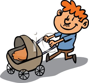 350x326 Dad And Baby Clipart