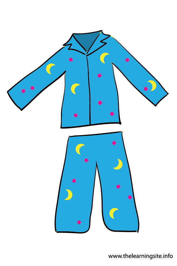 600x900 Put On Pajamas Clipart