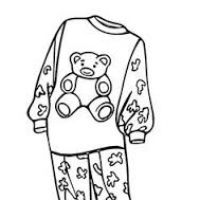 200x200 Put On Pajamas Clipart