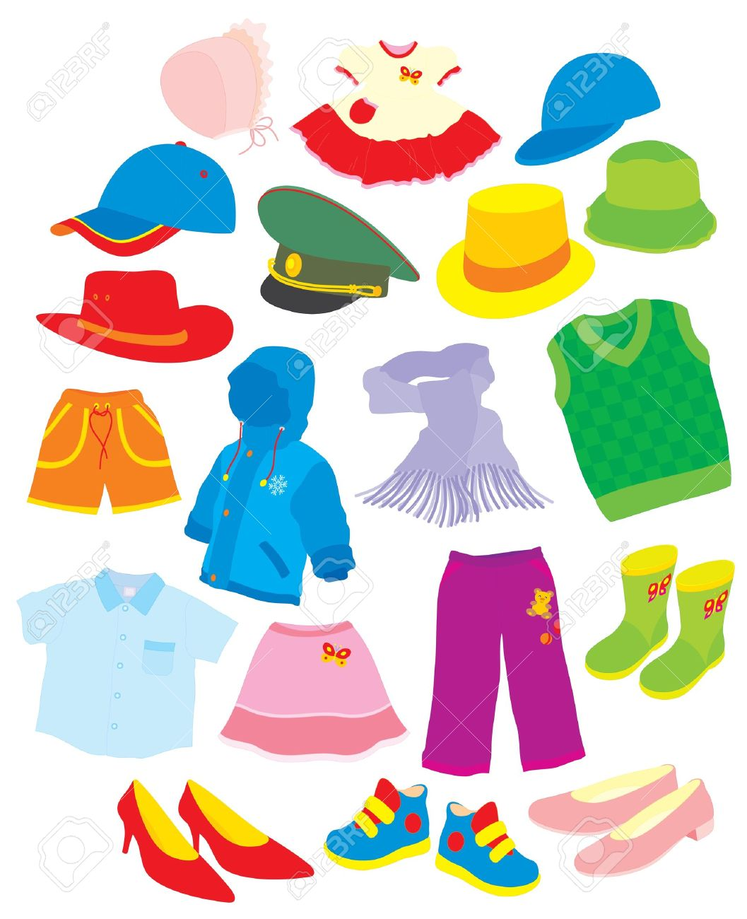 Putting On Clothes Clipart | Free download on ClipArtMag
