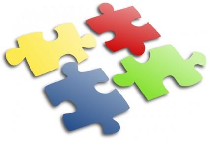 425x288 Jigsaw Puzzle Clip Art Vector Clip Art Free Vector Free Download