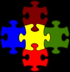 291x299 Jigsaw Puzzle Pieces Clipart
