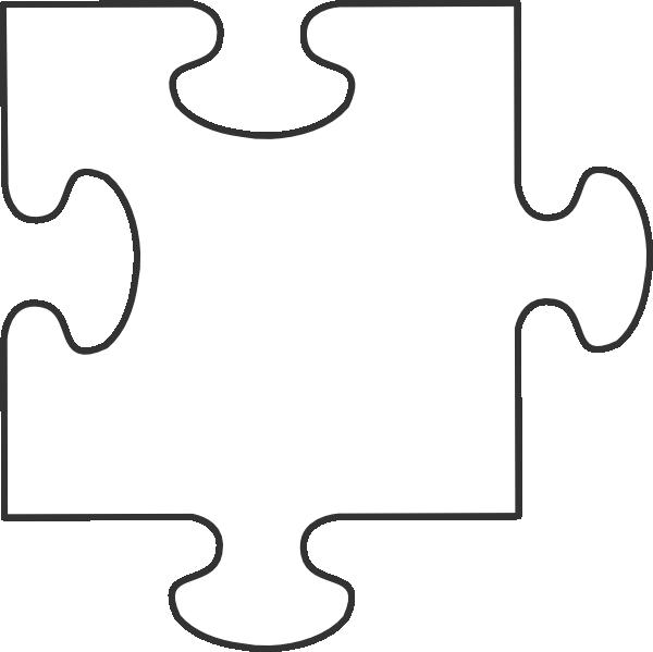 600x599 Large Blank Puzzle Pieces White Puzzle Piece Clip Art Teachery