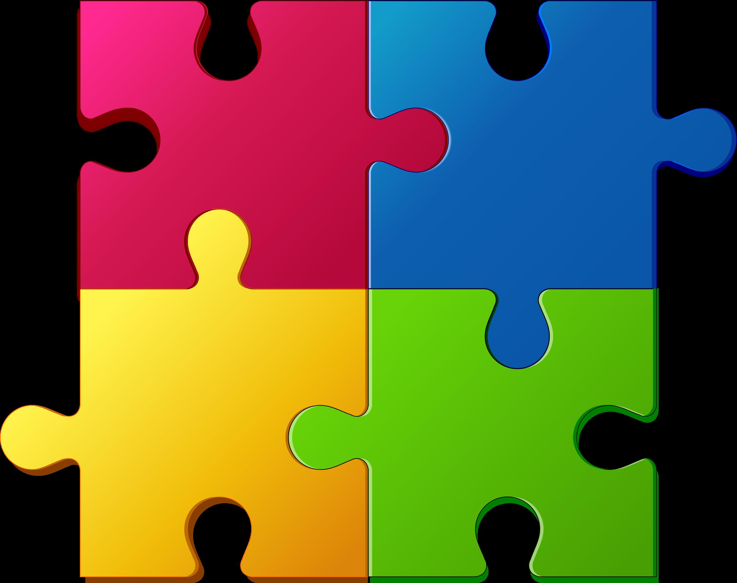 2400x1899 Puzzle Clip Art