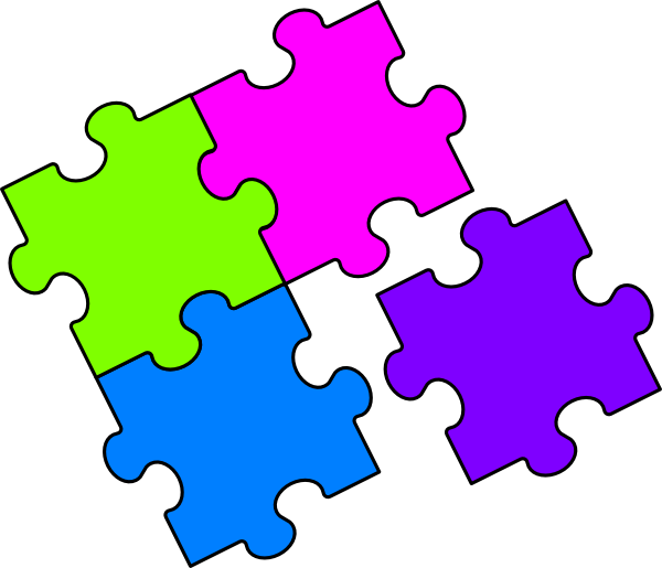 600x515 Puzzle Clip Art