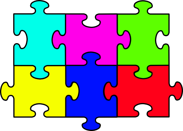 600x431 Puzzle Complete Big Clip Art
