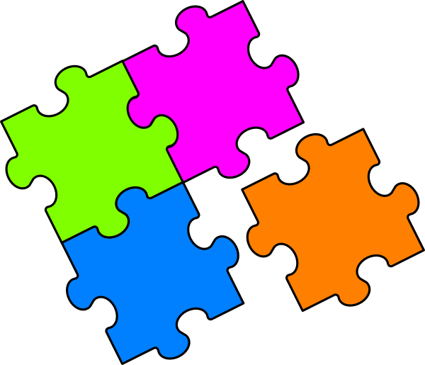 Puzzle together. Clipart free download best