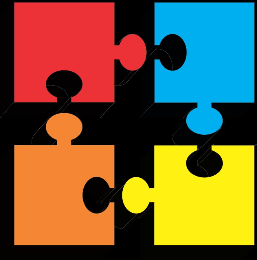 888x900 Puzzle Pieces Clipart Clipart Panda
