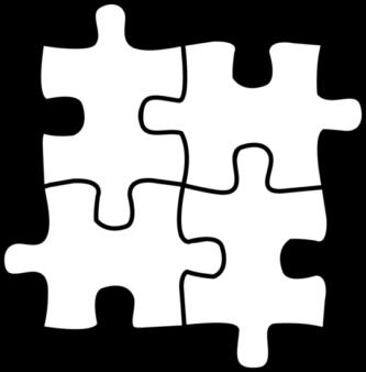 333x338 Puzzle Clipart Printable