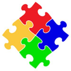 300x300 Puzzle Piece Clip Art 2 Image