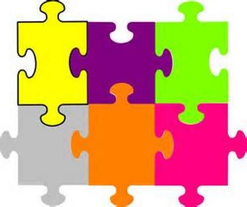 500x420 Puzzle Piece Clip Art Free Clipart