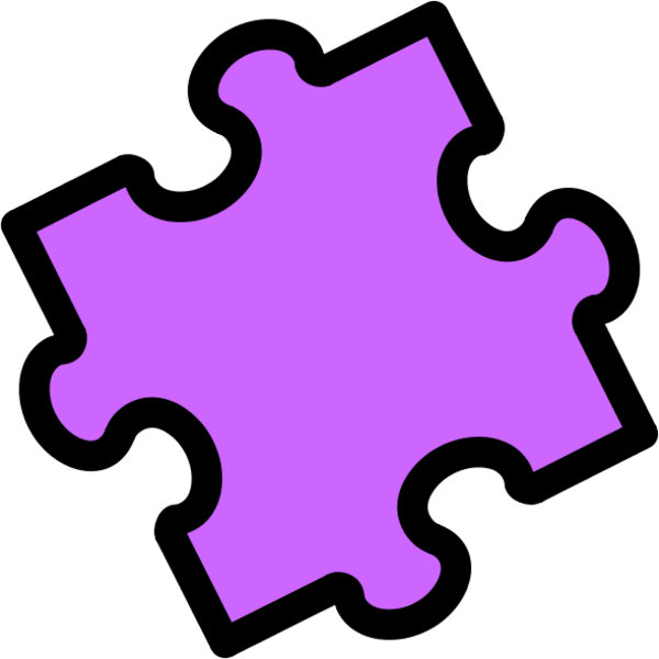 600x600 Puzzle Piece Gallery For 3 Piece Jigsaw Clip Art Image
