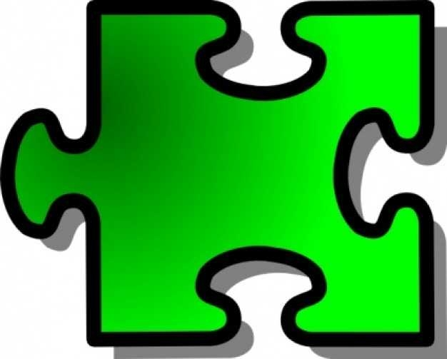 626x503 Blue Jigsaw Puzzle Piece Clip Art Free Vector In Open Office