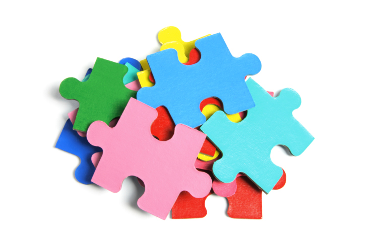 724x483 Clipart Jigsaw Puzzle