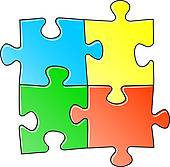 170x167 Jigsaw Puzzle Clip Art