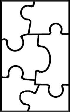 236x376 Puzzle Piece Template Puzzle Pieces Puzzle Pieces