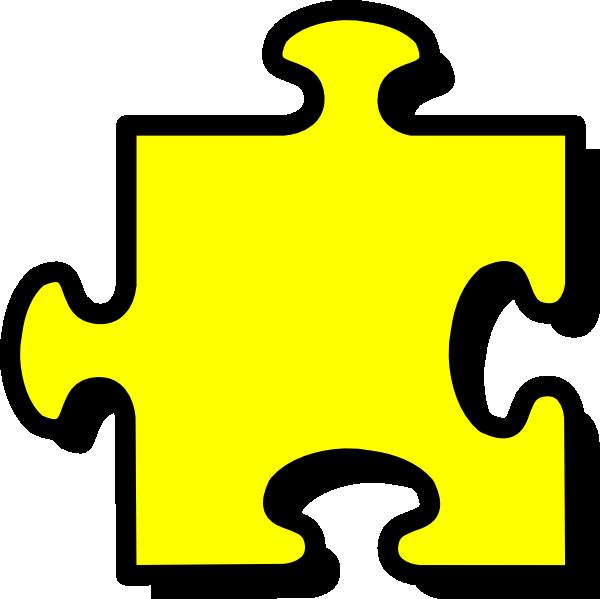 600x599 Puzzle Piece Puzzle Clip Art Image