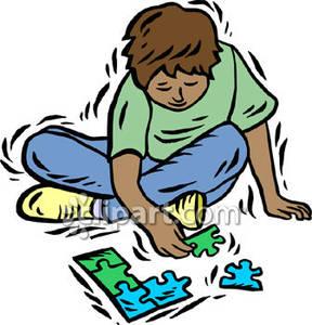288x300 Puzzle Clipart Child Puzzle