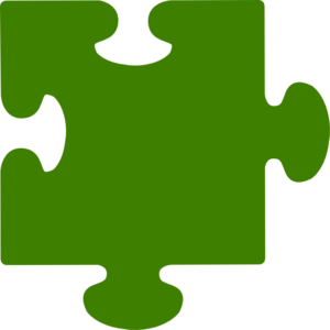 300x300 Green Puzzle Piece 2 Clip Art High Quality