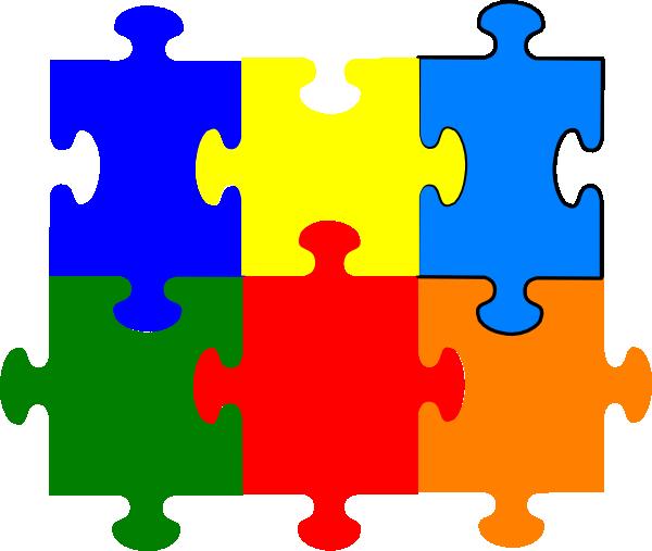 600x507 Jigsaw Puzzle Pieces Clipart