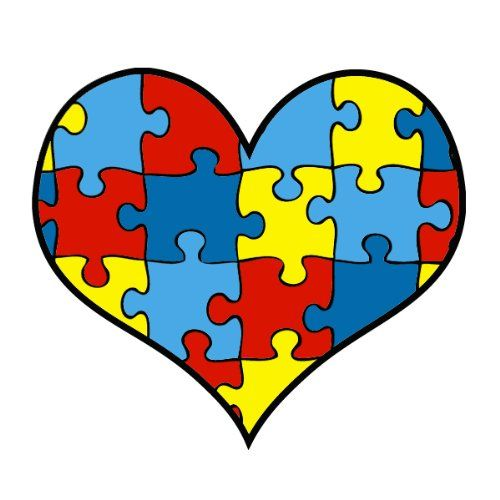 500x500 Autism Puzzle Piece Clip Art