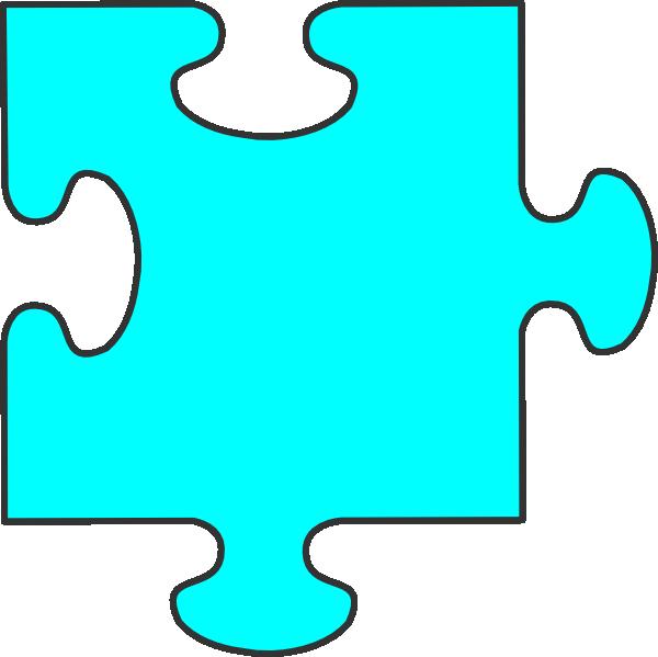 600x599 Puzzle Piece Clipart
