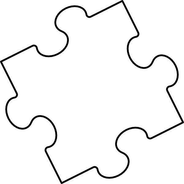 600x600 Autism Puzzle Piece Clip Art