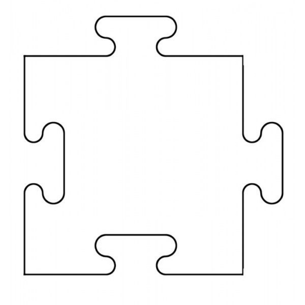 1024x1024 Puzzle Pieces Vector Clip Art On Piece Image Clipart Library