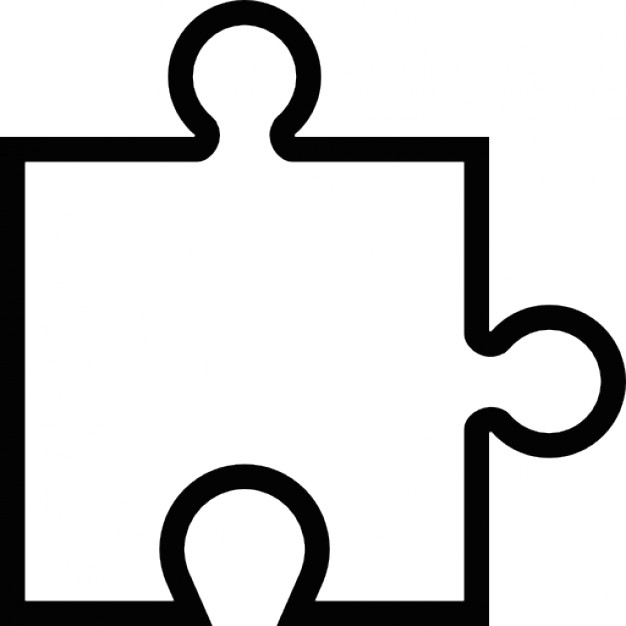 Puzzle Piece Outline  Free Download Best Puzzle Piece Outline On