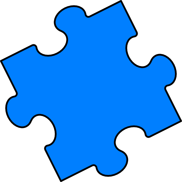 600x600 Gallery For Free Clip Art Images Puzzle Pieces Image