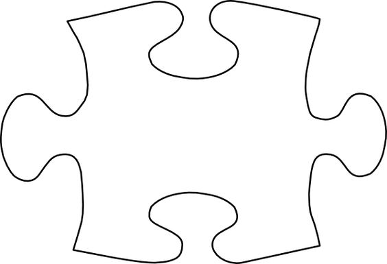 564x385 Puzzle Piece Template. Puzzle Pieces Template Free Vector Puzzle