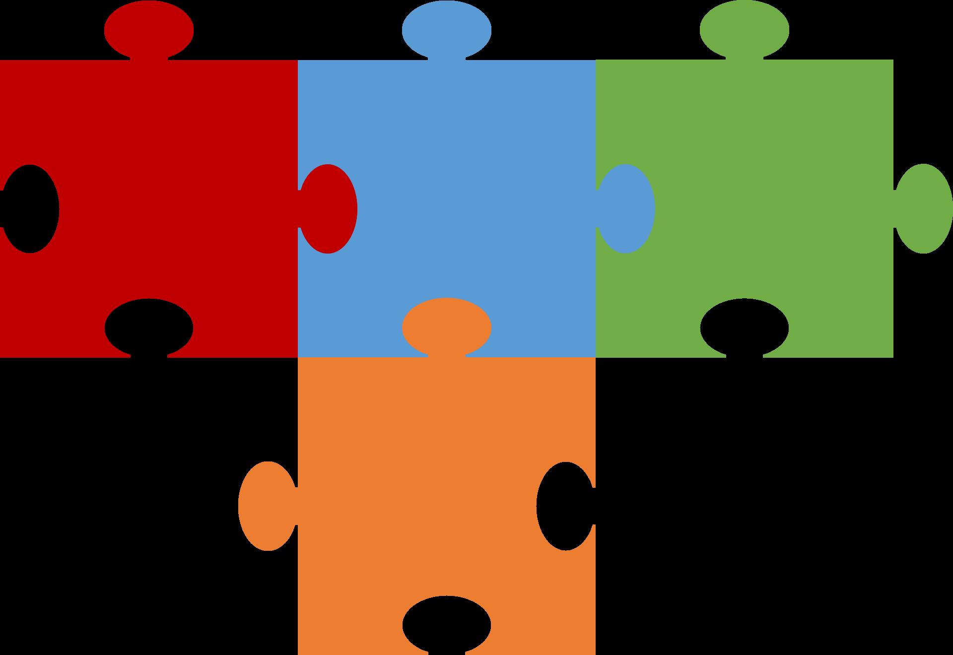 Puzzle Pieces Outline   Free download best Puzzle Pieces Outline on ...