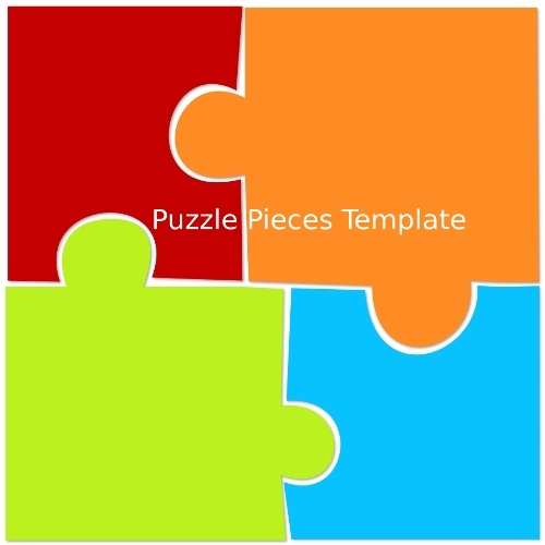 Puzzle Pieces Outline  Free Download Best Puzzle Pieces Outline On
