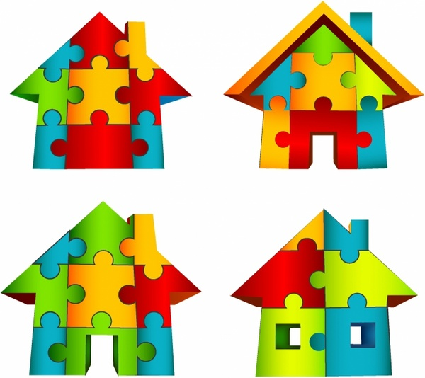 600x534 Jigsaw Puzzle Clipart Free Vector Download (3,471 Free Vector)