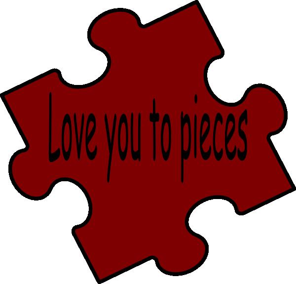 600x575 Never Ending Jigsaw Puzzle Piece Clipart