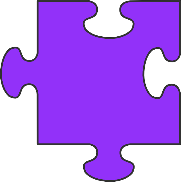 600x601 Puzzle Pieces Clip Art Chadholtz