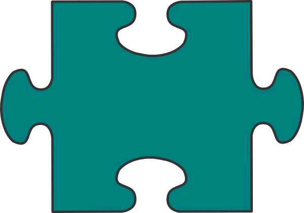 600x421 Puzzle Pieces Clipart