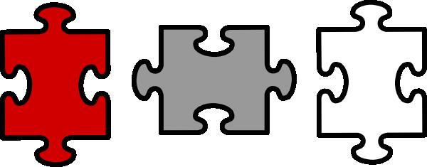 Puzzle Pieces Vector Clipart Free Download Best Puzzle Pieces