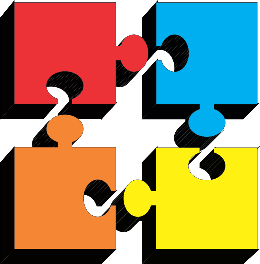888x900 Puzzle Piece Gallery For 3 Jigsaw Clip Art Image
