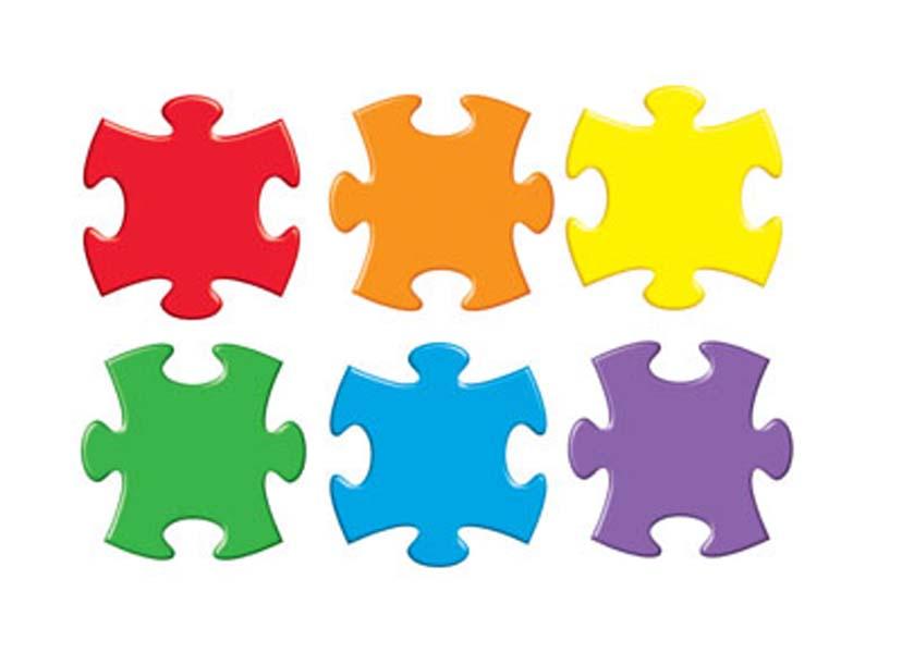 828x600 Free Clip Art Jigsaw Puzzle Pieces
