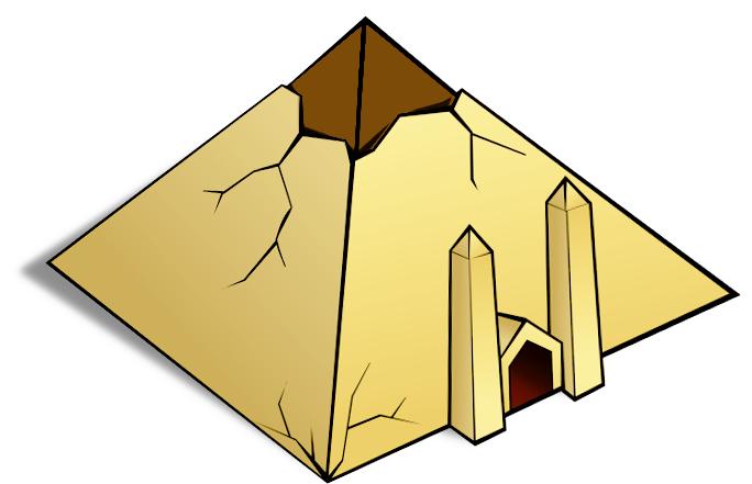 684x441 Pyramid Clipart