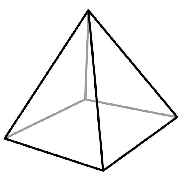 600x600 Pyramid Clipart Egyption