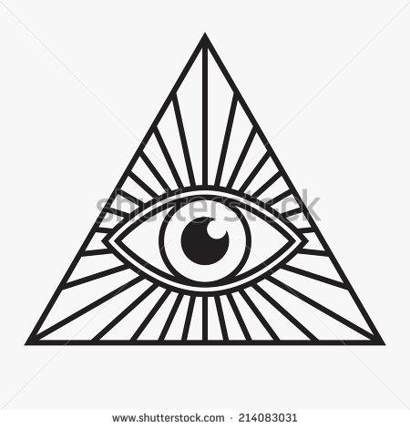 450x470 Pyramid Clipart Eye