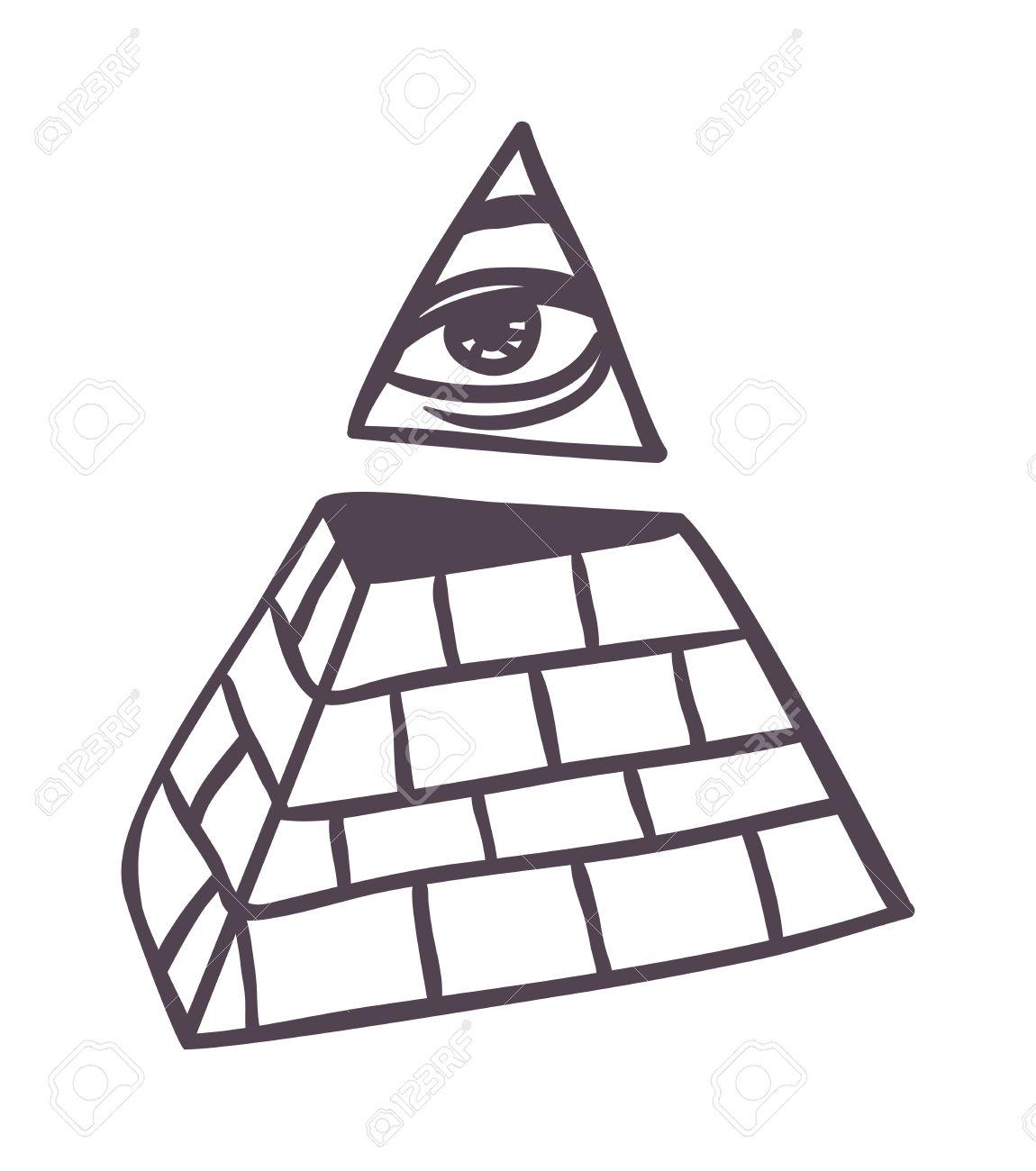 1150x1300 Pyramid Clipart Silhouette