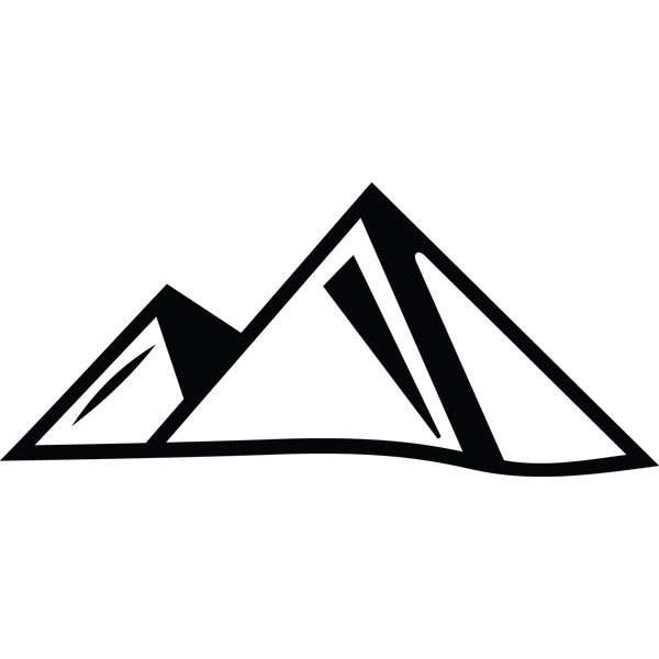 600x600 Egyptian Pyramids Landmark Clip Art Custom Engraved Products