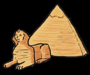 300x251 Egyptian Clipart Great Pyramid