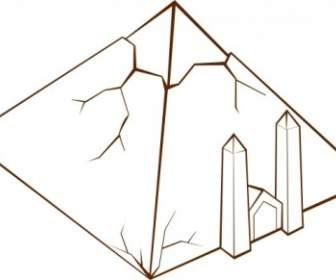 336x280 Pyramid Clip Art Vector Clip Art Free Vector Free Download