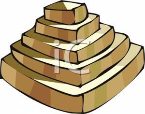 300x236 Step Pyramid Clipart