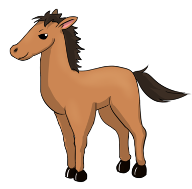376x370 Free Clipart Horse