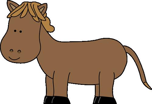 500x343 Horse Clip